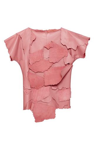 Medium loewe pink candy leather pealing top