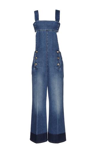 Medium sonia rykiel blue blue washed denim jumpsuit