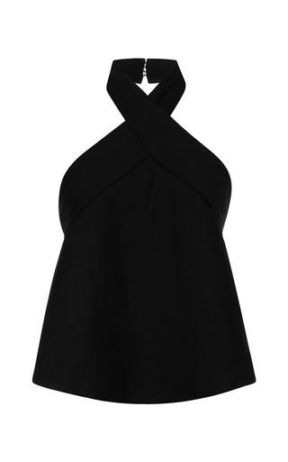 Medium isabel marant black cotton costard kast top in black