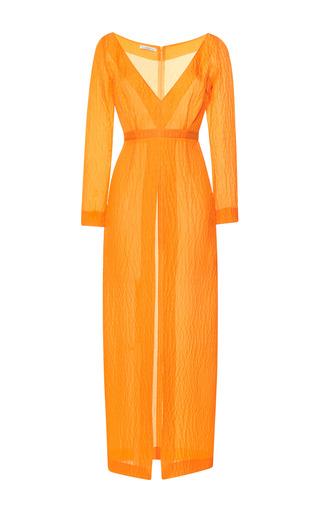 Medium emilia wickstead yellow yellow jacquard emma dress