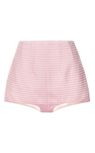 Medium emilia wickstead pink pink waffle short