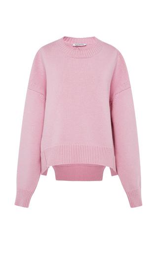 Medium vivetta pink fiore knit sweater 2