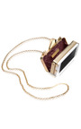 #Getsmartbag Snakeskin Clutch In White by KOTUR Now Available on Moda Operandi