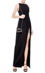 #Getsmartbag Snakeskin Clutch In Black by KOTUR Now Available on Moda Operandi