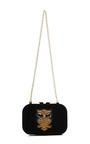 Margo Embellished Velvet Clutch by KOTUR Now Available on Moda Operandi