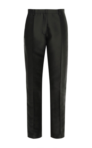 Medium vilshenko black dana fit crop trousers