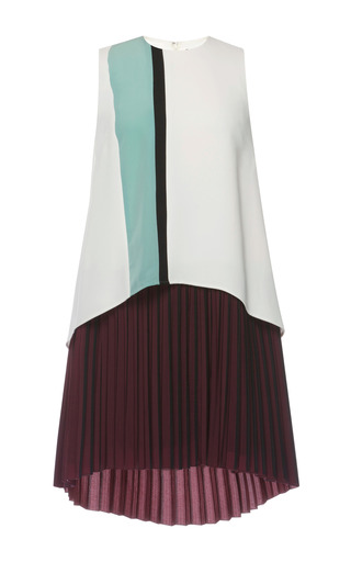 Medium muller multi two layer line dress 2
