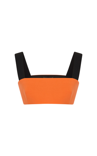 Medium fausto puglisi orange orange bra top