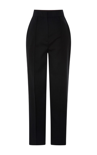 Medium vika gazinskaya black black cropped pant