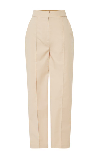 Medium vika gazinskaya brown beige cropped pant