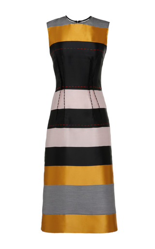 Medium cedric charlier multi black fantasy print bayadere skirt