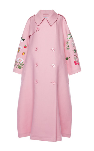 Medium vivetta pink garden fiore coat