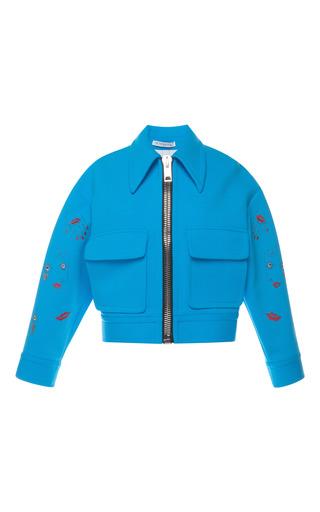 Medium vivetta blue tulip sorriso zip jacket