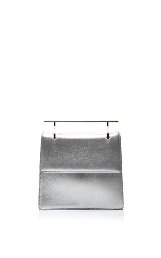 Medium m2malletier silver la collectionneuse in silver