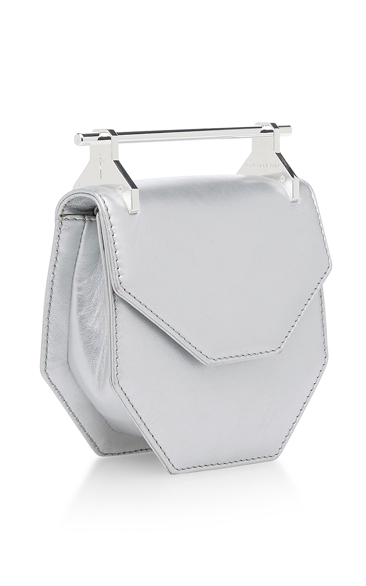 037980304b2d M2MalletierMini Amor Fati Leather Bag in Silver. CLOSE. Loading. Loading