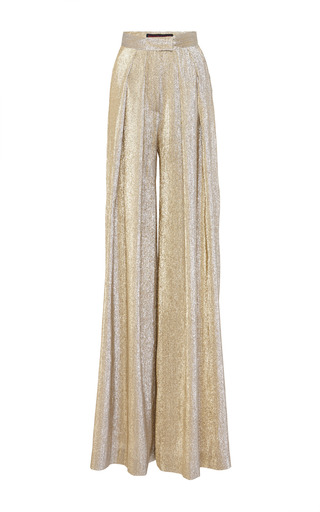 Medium martin grant gold large pleated pants