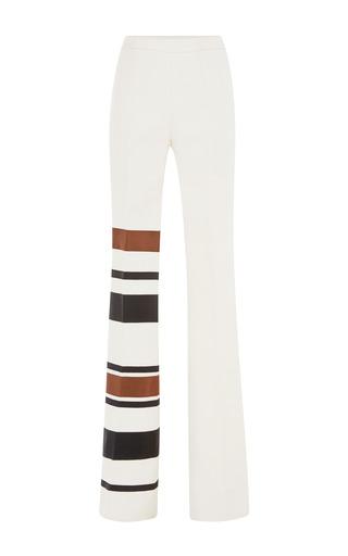 Medium giambattista valli multi wide leg trousers with multi stripe