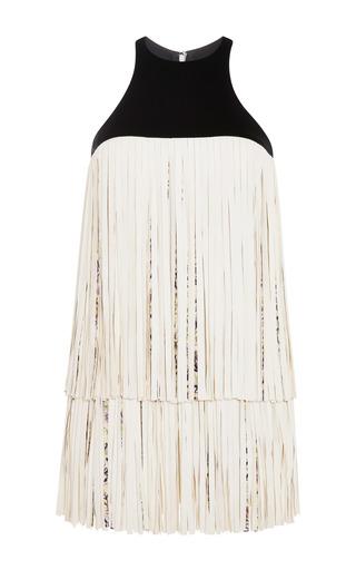 Medium giambattista valli multi dress with fringe