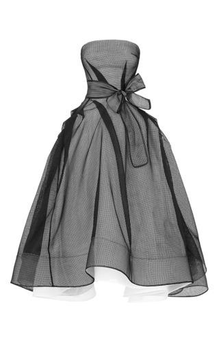 Medium maticevski black mechanical gown