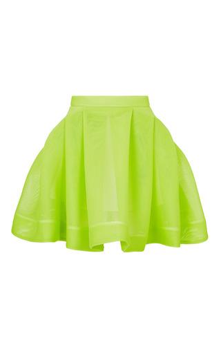 Medium maticevski green control mini skirt