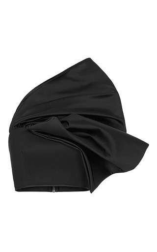 Medium maticevski black persistance bustier