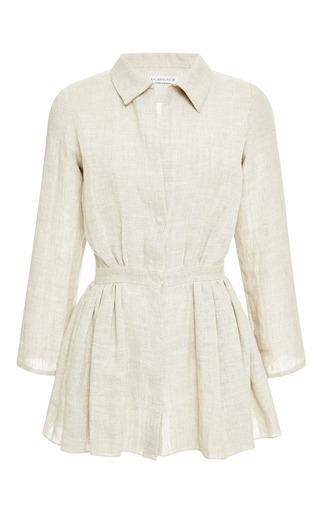 Medium kalmanovich brown viscose shirt dress