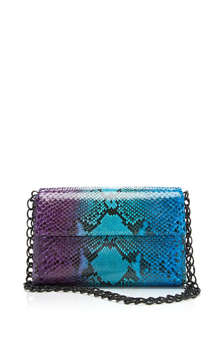 Medium nancy gonzalez multi over the shoulder bag in blue and purple