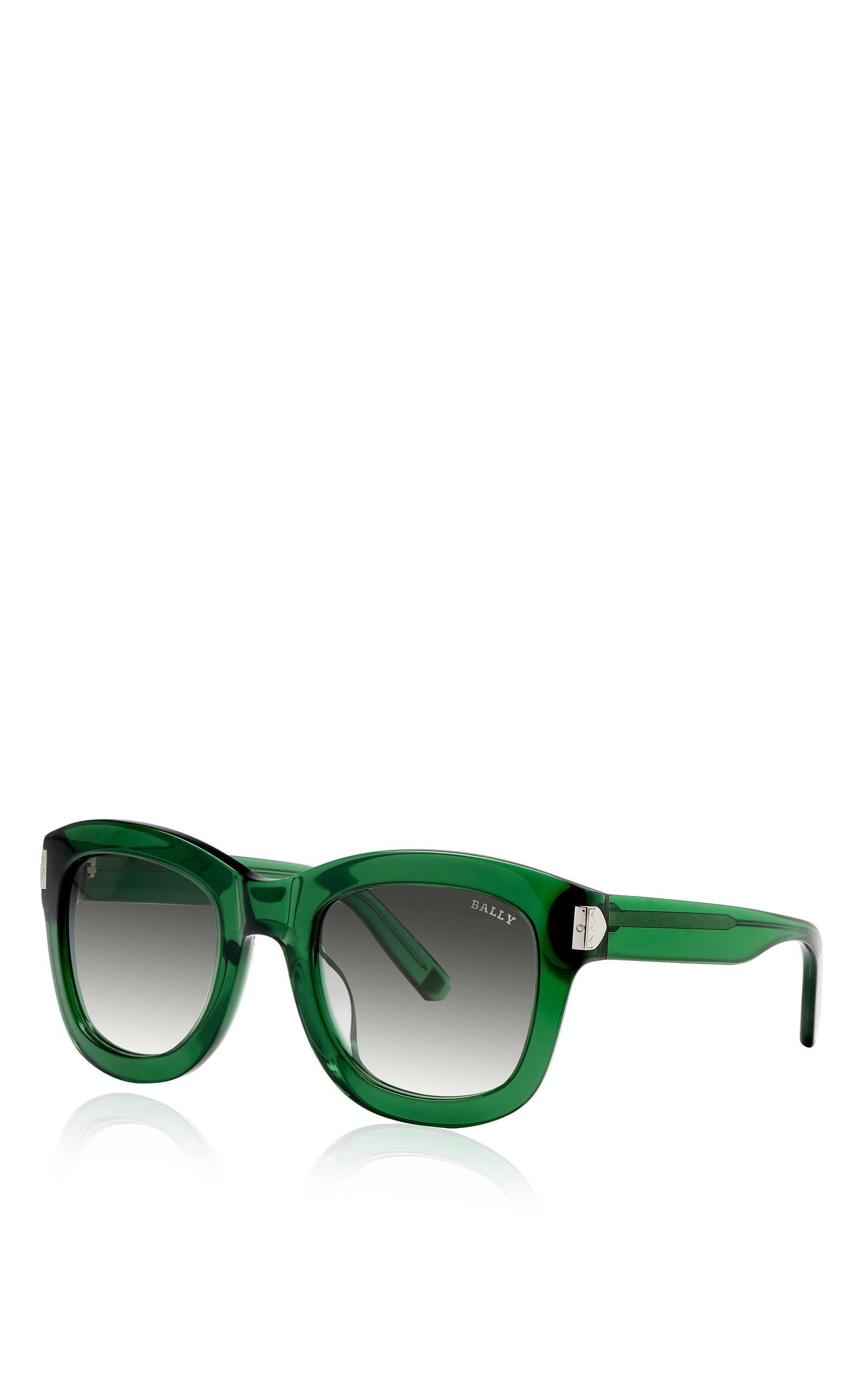 4e1812a0ca Green Acetate Sunglasses by Bally