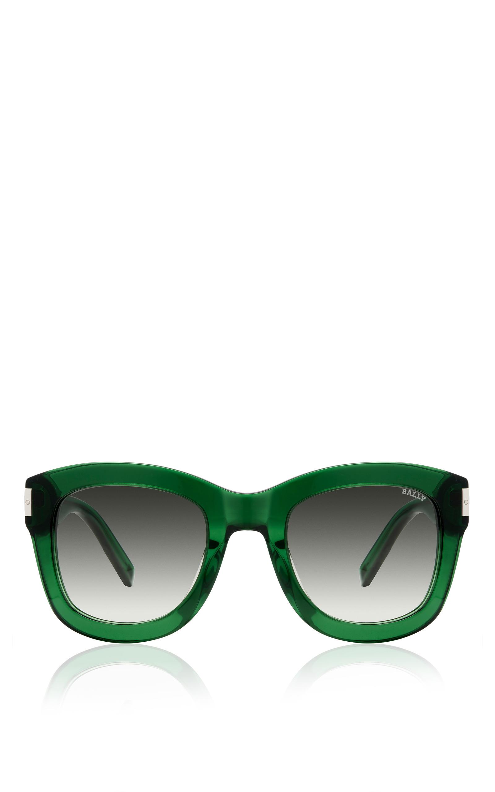 4c783fa176c BallyGreen Acetate Sunglasses. CLOSE. Loading. Loading. FULL SCREEN. Click  Product to Zoom
