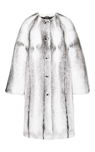 Medium helen yarmak white black cross mink coat