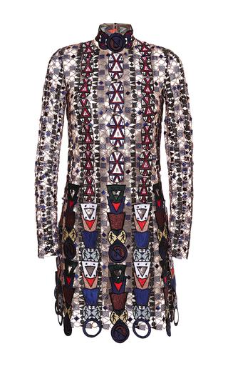 Medium mary katrantzou multi pincop lace dress 2