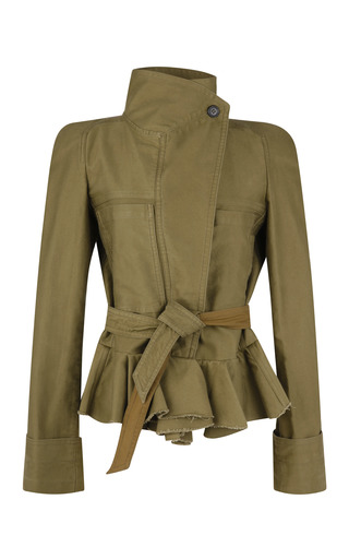 Medium isabel marant gold janey jacket 3