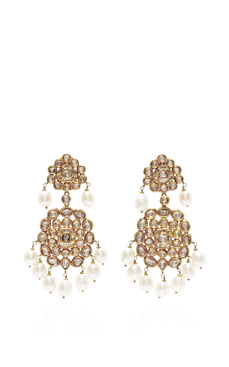 indian gold of style life fashion earrings