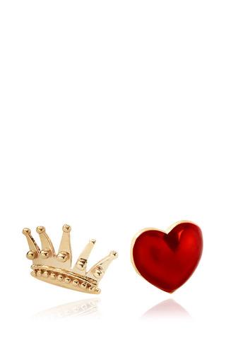 Medium alison lou multi queenofhearts earrings