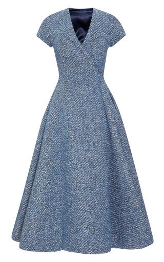 Medium emilia wickstead blue a dress with tuille 2