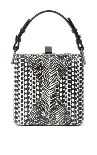 Medium jill haber multi jill haber charles geometric elaphe classic box bag