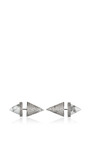 Crystal Pave And Marble Cone Earrings by EDDIE BORGO Now Available on Moda Operandi