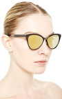 Thermic Frame Cat Eye Sunglasses by ITALIA INDEPENDENT Now Available on Moda Operandi