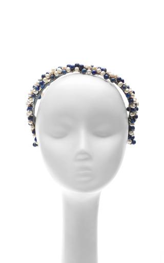 Double Strand Faux Pearl Headband by MASTERPEACE Now Available on Moda Operandi