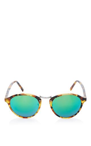 Medium spektre multi spektre audacia sunglasses in havana with green mirror lens 2