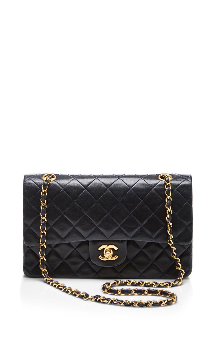 Chanel Black Lambskin 2.55 9In Shoulder Bag by What  d2faf0c1112ca
