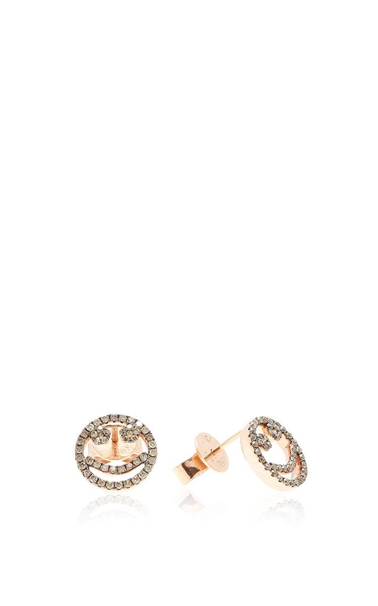 diamond stud earring Rosa De La Cruz 5V65Mx