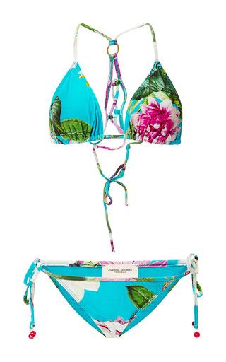 Medium adriana degreas unknown color bouquet print braided bikini