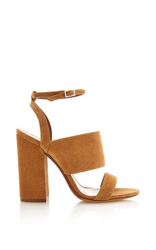 Medium tabitha simmons brown stevie camel sandal