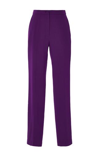 Medium elie saab purple amethyst stretch cady pant
