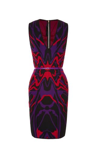 Medium elie saab multi sleeveless knit short dress