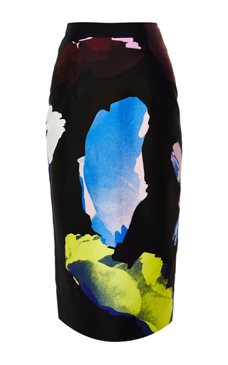 Medium josh goot black dark scatter easy pencil skirt