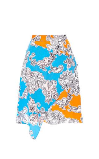 Medium tanya taylor multi mackenzie skirt in blue floral