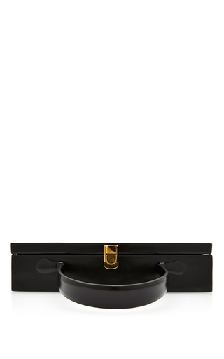 Rear Window Overnight Case In Black by MARK CROSS Now Available on Moda Operandi