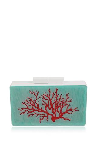 Medium urania gazelli red coral clutch